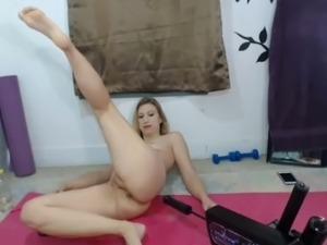 girls riding sybian sex machine