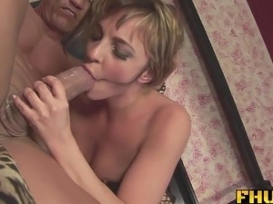 black dick in white hole