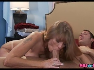 black dick giving white cougars facials