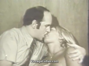 Blonde Girl Hypnotized in to Having Sex (1960s Vintage)