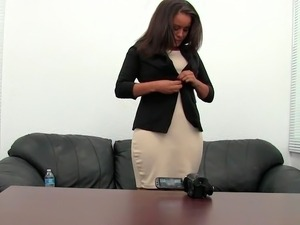 free black girl casting tube
