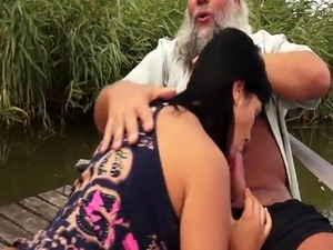 yong girl old man vids