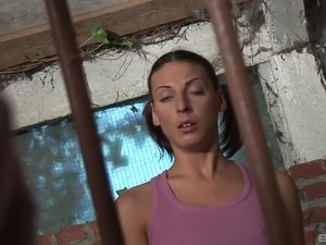 Girls get fucked in jail
