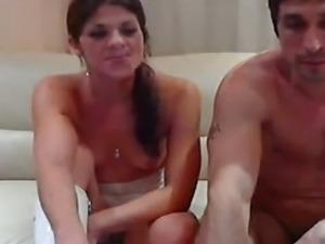 husband and wife take girl