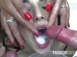 free asian bukkake video tube