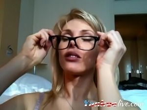 free blonde squirt video