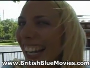 Sandie Caine - British First Time Porn