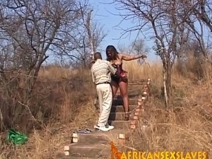 naked shaved brutal bdsm outdoor picture