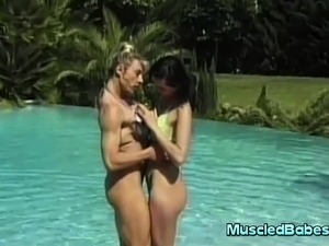 power muscle babes porn