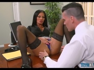 people having sex at work video