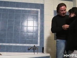 oral sex stories in the shower