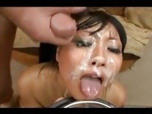 asian young bukkake