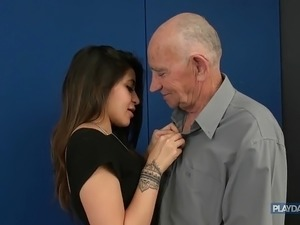 old woman seduces young man movies