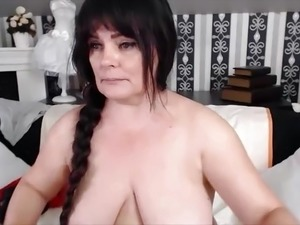 saggy tits pale girl mature