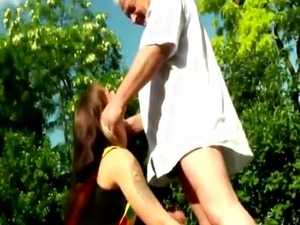 old man young girl hd videos