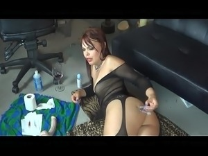 crazyamateurgirls.com - thick butt injection and dildo - crazyamateurgirls.com