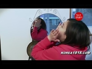 korean girls fuck