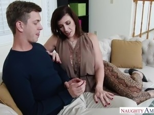 house wife teachs boy sex