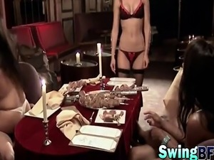 mature swinger home party