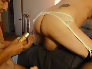 Strapon sex video