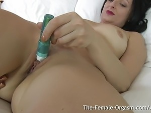 self shot orgasm videos