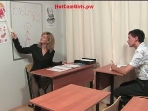 horny teacher handjob videos