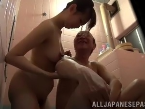 funny asian orgasm video