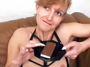 young blonde swallowing cum