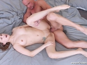 young girl first time video