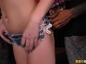 Interracial Gangbang And Anal - Summer Day