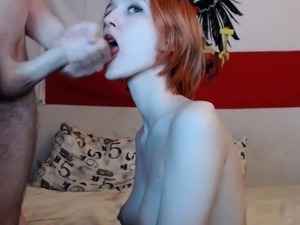 cumshot on hairy pussy free thumb