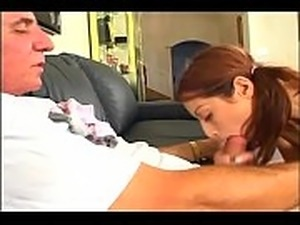 young girls suck old mans cock