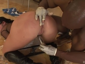 sloppy ebony anal