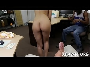 Exposed amateur is getting cock