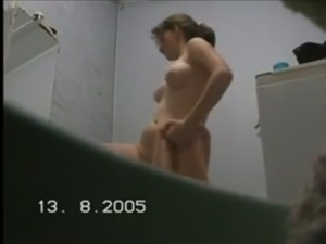 young naked boys showering