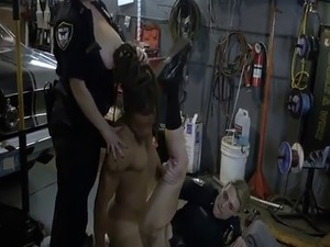 Amateur milf screaming and german blonde fisting Chop Shop Owner Gets