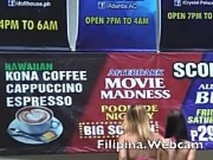 Filipina.webcam girls get naked for biknini party in Asian ass shaking show