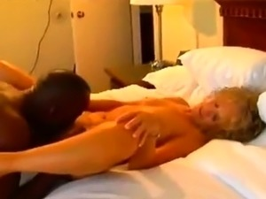 Mature amateur wife interracial cuckold anal fuck