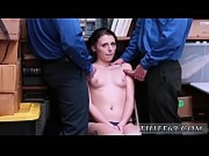 erotic police frisking video