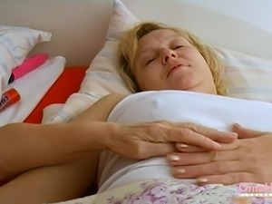 Horny housewives masturbating