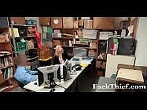 Police girl nude