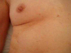 fingering and showing hairy pussy for cum