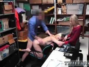 Girl seduces police She was informed that rock hard video