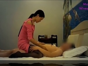 This long haired Chinese hooker gives nice blowjobs and she is a good masseuse