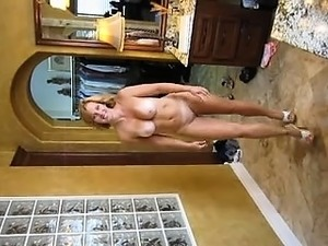 Hot amateur european blonde striptease and lapdance
