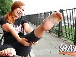 An UNEXPECTED Meet With BECKY'S SEXY FEET