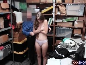 Teen puffy tits