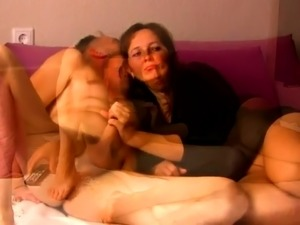 Lustful amateur milf gets nailed doggystyle by her lover
