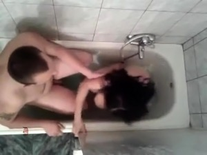 young girl shower voyeur