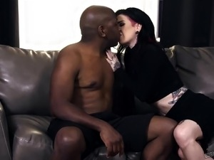 Interracial sex anal
